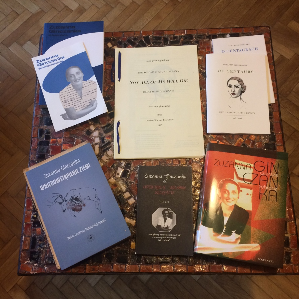 Ginczanka Books