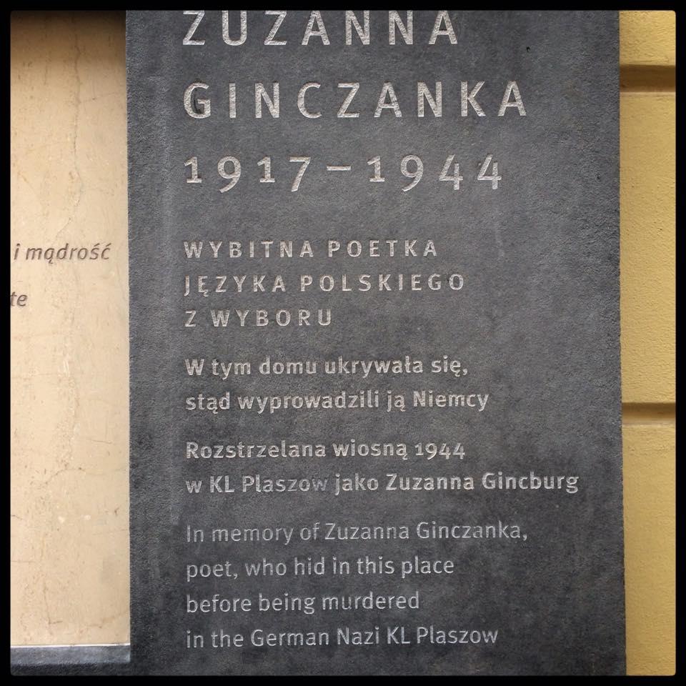 Ginczanka Tablica